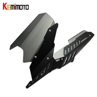 KEMiMOTO For YAMAHA YZF R3 R25 MT 03 MT03 MT 03 2013 2015 2016 2017 CNC Rear Fender Mudguard & Chain Guard Cover Kit YZF R25