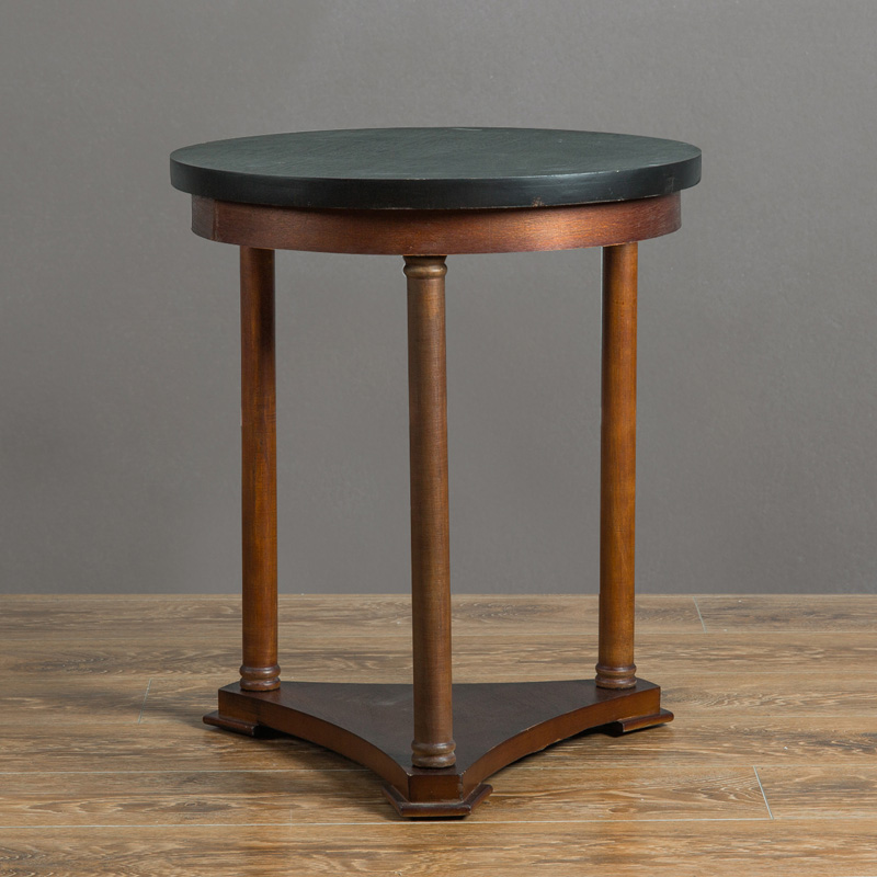 Modern Wooden Side Table Round Loft Style Furniture Pedestal End Accent  Table Design for Magazines Small. Popular Small Accent Tables Buy Cheap Small Accent Tables lots