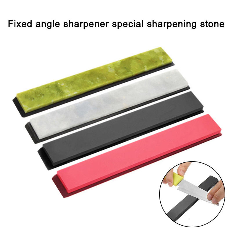 4Pcs Cutter Blades Sharpener Stone Polishing Whetstone Oilstone with Base 3000-10000# HG994Pcs Cutter Blades Sharpener Stone Polishing Whetstone Oilstone with Base 3000-10000# HG99