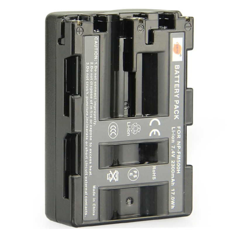 DSTE NP-FM500H Rechargeable Battery for Sony A65 A77 A99 A500 A560 A580 A850 A900 A100 A57 A200 Digital Camera