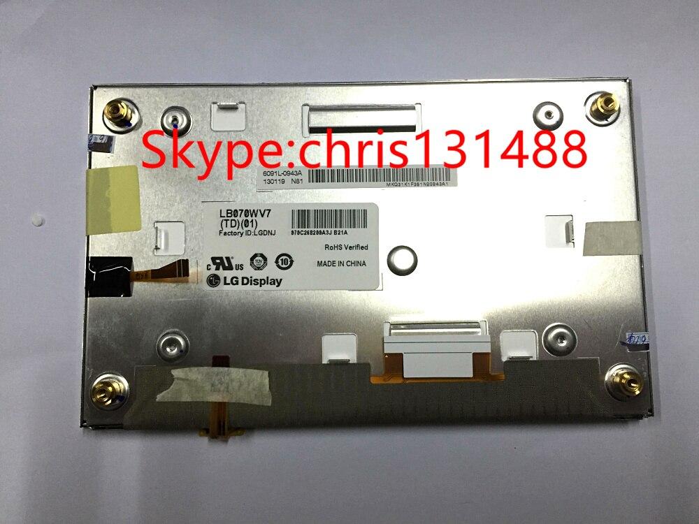 LB070WV7 TD 01 MODULES LB070WV7 TD01 LB070WV7 TD02 LB070WV7 TD02 Original 7 Inch Touchscreen LCD Screen