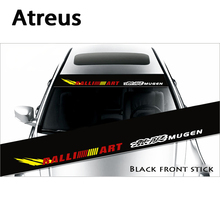 Atreus Waterproof Car Window Front Rear Windshield Stickers For Peugeot 206 308 2008 3008 508 208 Mitsubishi ASX Lancer 10 9