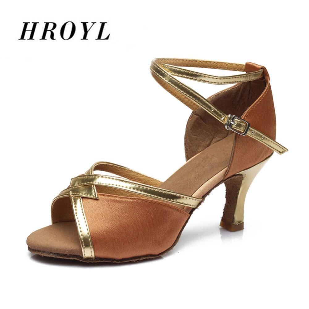 new brand girls women's ballroom tango salsa latin dance shoes 5cm and 7cm heel free shipping