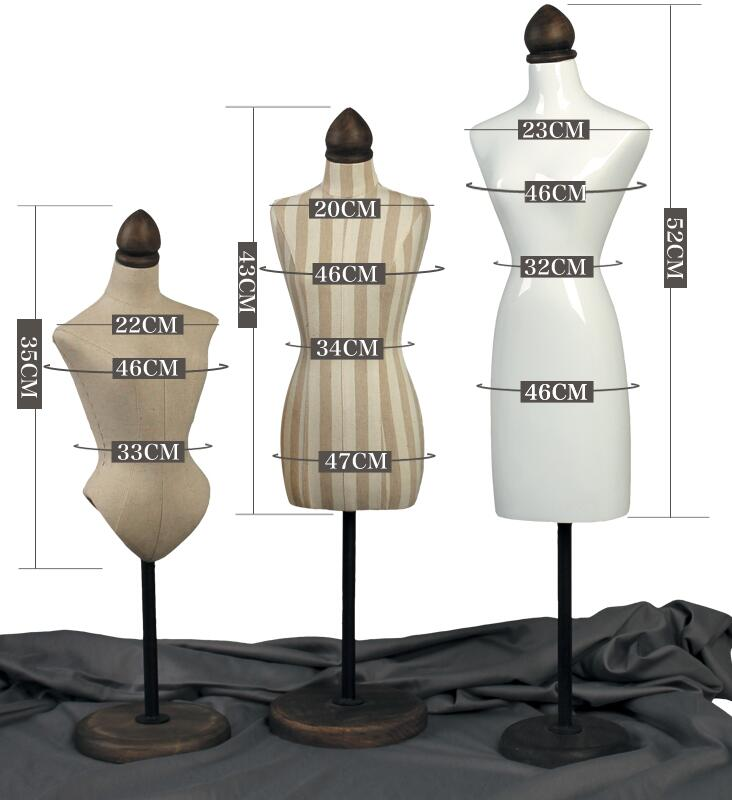wholesale 3 style female mannequin for clothes display jewelry shelf necklace bracelet earrings rack Disc base model 1pc B539 in Mannequins from Home Garden