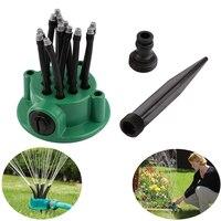 360% jardim rotativo automático de irrigação por aspersão jardim sprinkler sprinklers gramado atomizador aspersão jardim sistema de rega
