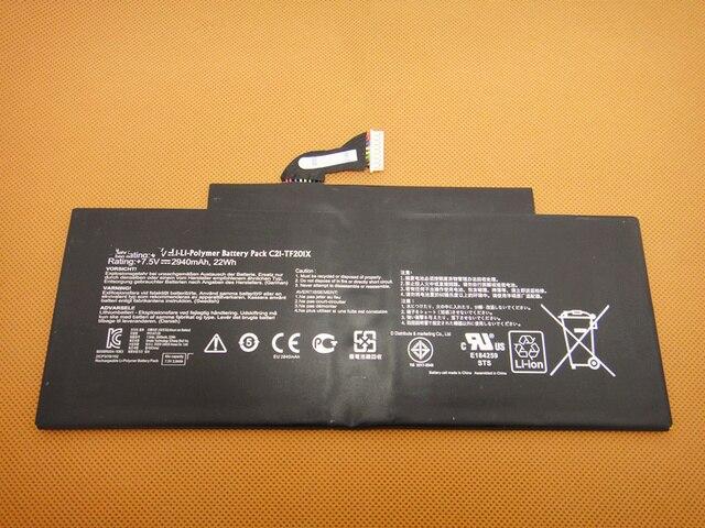 genuine orgininal C21-TF201X battery for ASUS Transformer Pad TF300T TF300TG TF300TL Series laptop 7.5v 22wh free ship