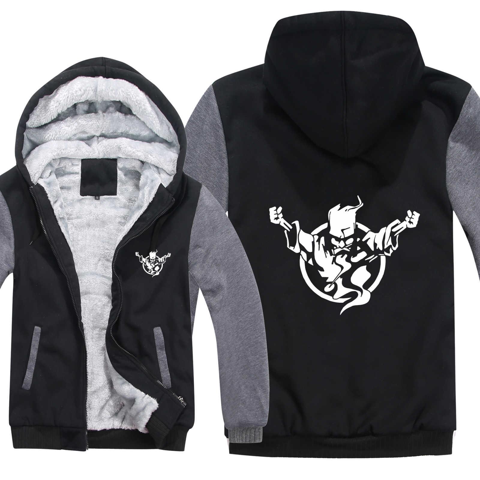Winter Thunderdome Hoodies Men Fashion Coat Pullover Warmer