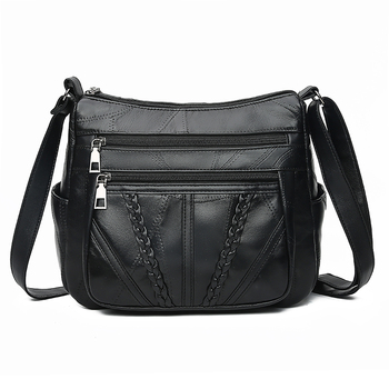 Women Shoulder Bags Genuine Leather Female Bags For Ladies Crossbody Bags Luxury Designer Handbag High Quality New ly shark women bag ladies genuine leather handbag shoulder female crossbody bags for women luxury handbags women bags designer