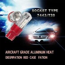 Real New Retrofit Lights 7443 Dual Function 22smd 5630 T20 Stop Car Led Blub