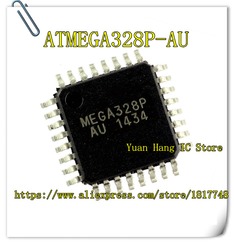 10pcs/lot ATMEGA328P-AU ATMEGA328P IC MCU 8BIT 32KB FLASH 32TQFP