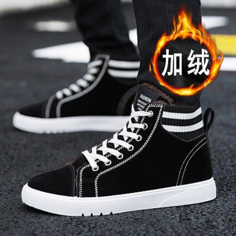 Chaud 4 De Bottes 2 L'aide Hommes Coréenne Plus Coton Version Velours 6 Et Le Haute Neige 1 Chaussures Hiver Automne 5 3 qXwn6txHIa