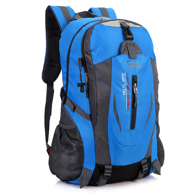 40bfffc9475a Online Shop 40L Waterproof Durable Outdoor Climbing Backpack Women Men Hiking  Athletic Sport Travel Backpack High Quality Rucksack