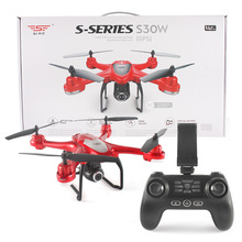 SJ  S30W Dual GPS Follow me modeWIFI FPV With 720P Wide Angle Camera RC Drone Quadcopter