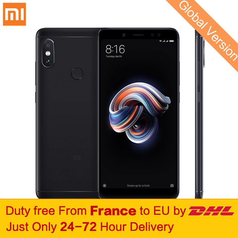 Freies steuer! globale Version Xiaomi Redmi Hinweis 5 4 gb 64 gb Smartphone Snapdragon 636 Octa Core 5,99