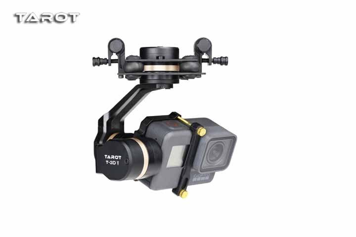 Tarocchi 3D V Metallo TL3T05 3 Axis Ptz Giunto Cardanico Della Macchina Fotografica Stablizer per Gopro Macchina Fotografica di Azione di 5 Fpv Drone Pezzi di Ricambio
