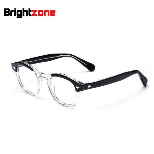 Brightzone Alta Qualidade Vogue Vintage Cheio Unisex Frame Ótico Acetato de Óculos  Óculos Frames Óculos Oculos ceb2cdc330