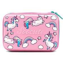 unicorn pencil case Kawaii kalem kutusu Anime estuche escolar Cartoon school supplies trousse scolaire stylo pen