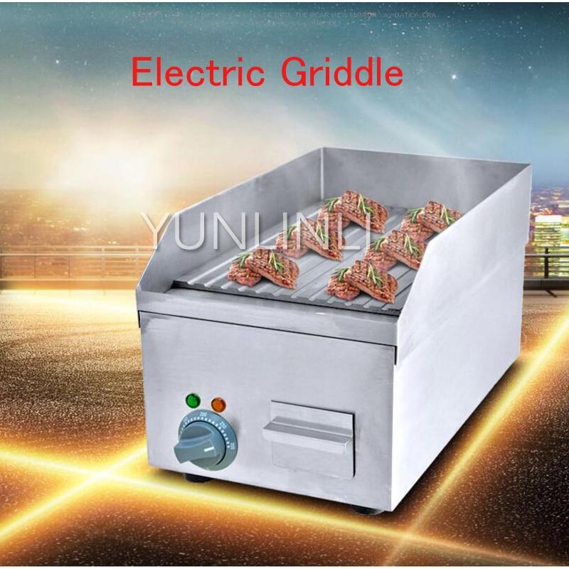 Electric Griddle Teppanyaki /Beef/ Steak Grilling Machine Commercial Meat Frying Wave Plate FY-250A цены