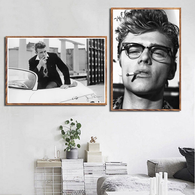 James Dean Rebel Without a Cause Film Movie Art Silk Poster 12x18 24x36 inch