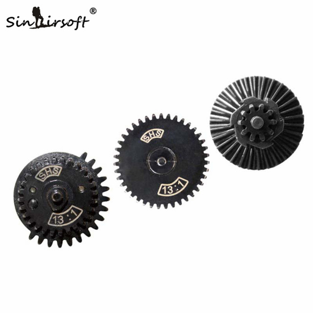 SINAIRSOFT SHS 13:1 Ultra-high Speed Gear Set for Ver. 2/3 AEG Airsoft Gearbox Hunting Accessories