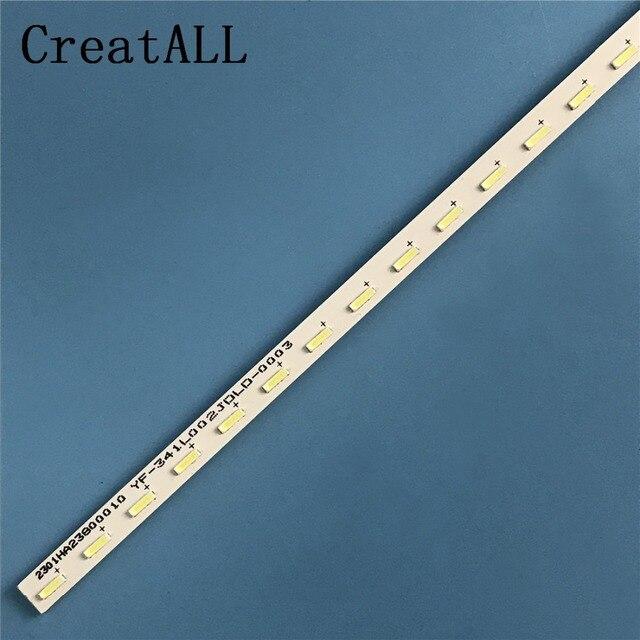 الألومنيوم LED شريط إضاءة خلفي 68 مصباح ل LG 23.5 24 بوصة تلفاز LCD LED24K200D E88441 RF-CY236B14 V236B1-LE1-TREF5 V236BJ1-LE1