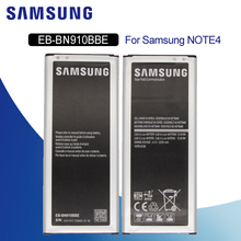 Original Battery For SAMSUNG N910 EB-BN910BBE 3220mA For Samsung Galaxy Note 4 N910F N910H N910V N910C Replacement Phone Battery