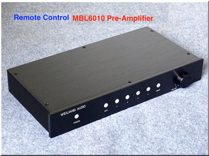 Wailiang Brezza Audio Imitato MBL6010D Pre-Amplificatore con Telecomando HIFI EXQUIS saldo WBAMBL6010DB Preamp