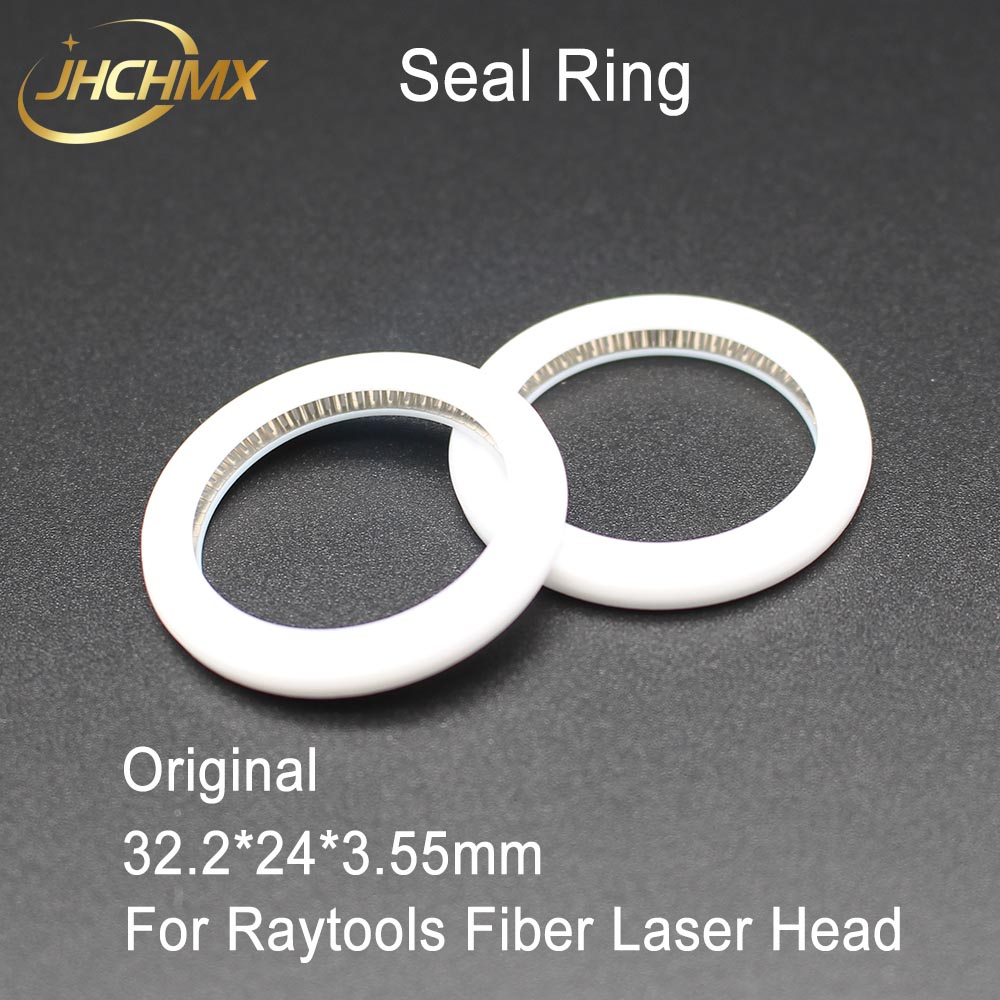 JHCHMX Original Raytools Spring Seal 32.2*24*3.55mm Seal Ring For Protection Lens Used On BT240 BT230 Raytools Fiber Laser Head