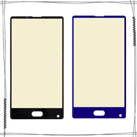 For DOOGEE MIX Front Glass Screen Lens Front Touch Screen Glass Outer Lens for DOOGEE MIX|Mobile Phone Touch Panel| |  -
