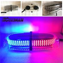 Lightbar Beacon LED for Car 240 Led/High-power/Mini with High-Duty Magnet-Amber