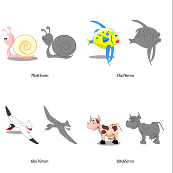 New 2018 cartoon animals pattern Metal Cutting Dies Scrapbooking Dies Animal Cutting Dies Cut For DIY Greeting Card Decorations