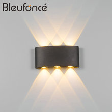 Outdoor Waterproof Wall Lamp Modern Simple LED indoor Wall Lamps Home Decoration Lighting Aluminum Balcony Wall Lights BL79