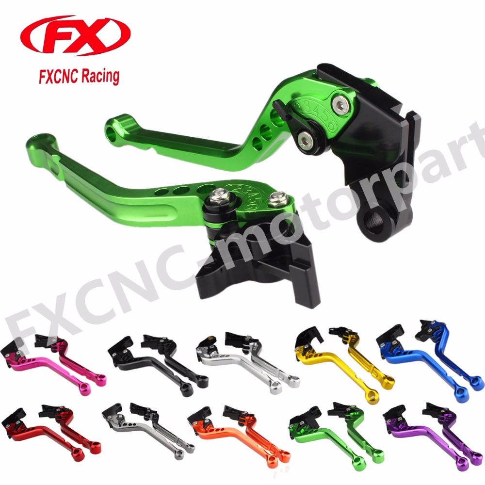 FXCNC Motorcycle Adjustable Brake Levers Clutch Levers Fit For HONDA Hornet CB600F 2007-2013 Moto Parts Motorcycle Accessories fxcnc aluminum adjustable moto motorcycle brake clutch levers for moto guzzi 1200 sport 2007 2013 08 09 10 11 12 hydraulic brake