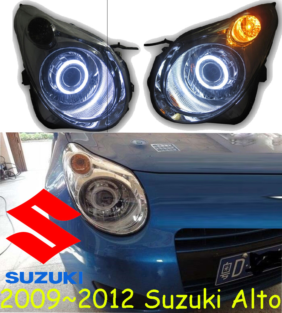 car-styling,Alto headlight,2009~2012,Free ship!I chrome,Alto fog,LED,Alto head lamp,Vitara,Aerio,Ciaz,Reno,kizashi,s-cross,samur