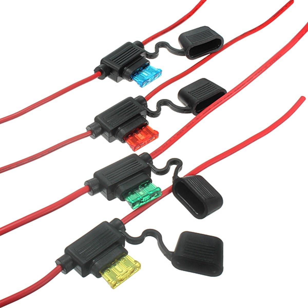5 Amp Fuse For Box Behringer Eurolive Speaker Rk5 Holder In Pcs 6v 12v 24v Waterproof Car Auto 10 15 20 30a Line Blade