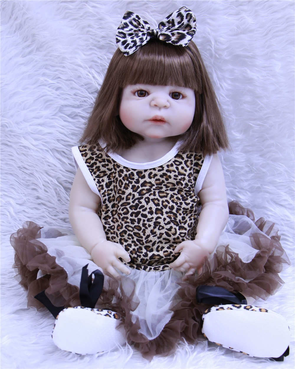 37568bd8b7 For Sale Full Silicone Baby Dolls For Sale Realistic Fake Baby Girl ...