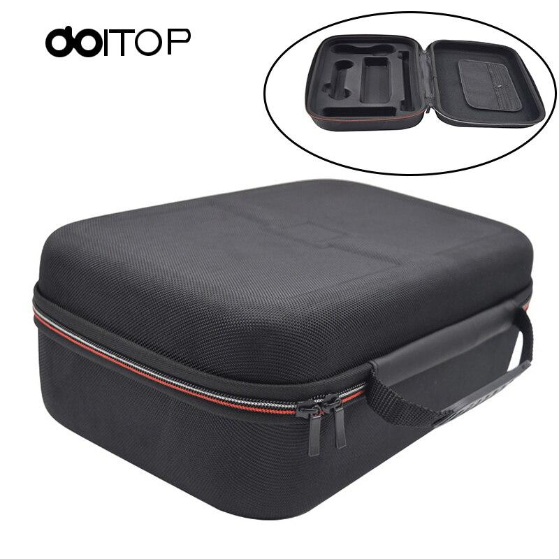 DOITOP boîte de rangement pour n-switch Portable Zip Case pour nessa Switch Console de jeu Gamepad coque rigide emballage voyage sac de transport B4