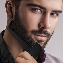2017 New Comb Beard Bro Shaping Tool Sex Man Gentleman Beard Trim Template Hair Cut Hair Molding Trim Template Beard Modellin