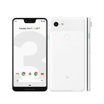 Перейти на Алиэкспресс и купить Оригинальный Новый Google Pixel 3 XL мобильный телефон 6,3 дюйма 4 Гб ОЗУ 64/128 Гб ПЗУ Snapdragon 845 Android 9 NFC 3430 мАч аккумулятор смартфон