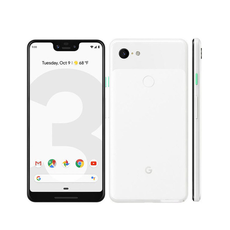Original New Google Pixel 3 XL Mobile Phone 6.3 4GB RAM 64/128GB ROM Snapdragon 845 Android 9 NFC 3430mAh Battery Smart Phone image