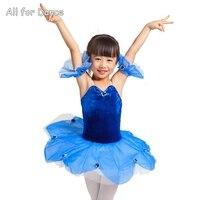 Royal Blue Ballerina Ballet Dance Performance Dance Wear Stage Ballet Tutus