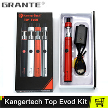 Original Kangertech Topevod Vape Kit With Kanger Top Evod Atomizer  1.7ml 650mAh Kangertech Top Evod Battery Vaporizer Kits цены онлайн