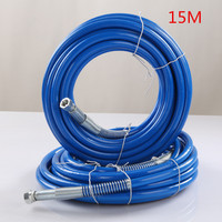 15m High Pressure Hose 1 4 NPS 3300Psi Max For Wagner Titan Graco Tool Airless Spare