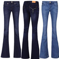 new Ladies OL Casual Trousers jeans Flare Pants Brand sexy denim women Plus size