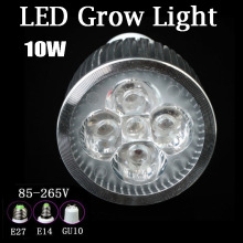 10W LED Grow Par Bulb Lamp Full Spectrum Grow Light E27 / E14 / GU10 AC110 – 220V For Hydroponic Garden , Greenhouse & Grow Tent