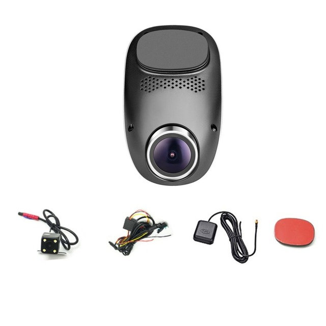 albabkc 1080P Mini Hidden WiFi Car Camera DVR Video Dash Cam Recorder Monitor