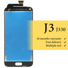 BEST quality For J3 2017 lcd screen For mobile phone J330 J330F lcd display 5 inch replacement assembly no dead pixel for samsung galaxy j3 2017 j330 lcd display touch screen digitizer replacement for samsung j330f sm j330f phone parts freetools