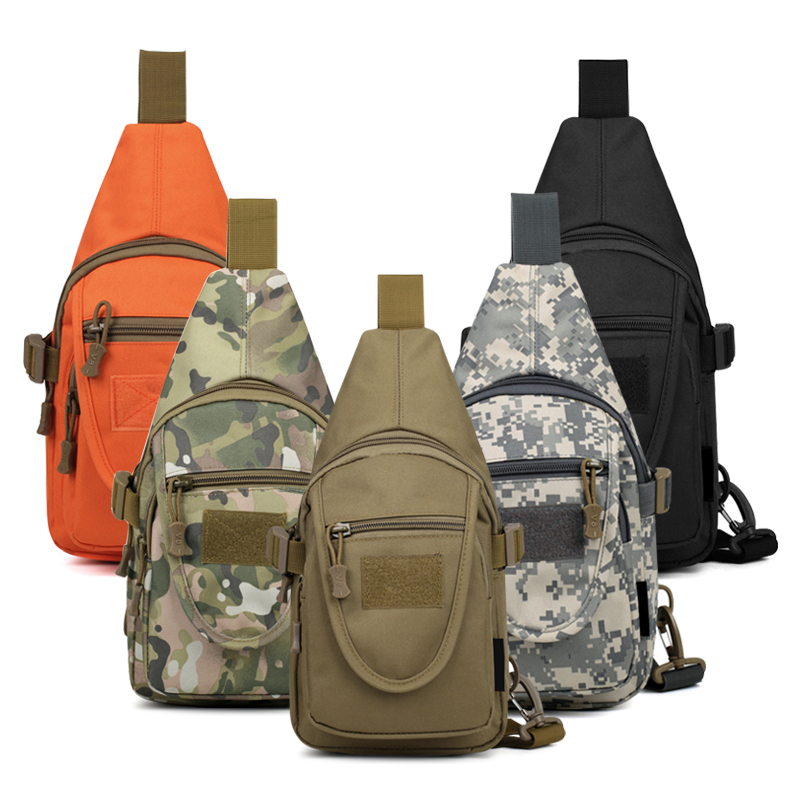⑧2017 Nuevo de alta calidad nylon bolsa de pecho Pack hombres Sling ...