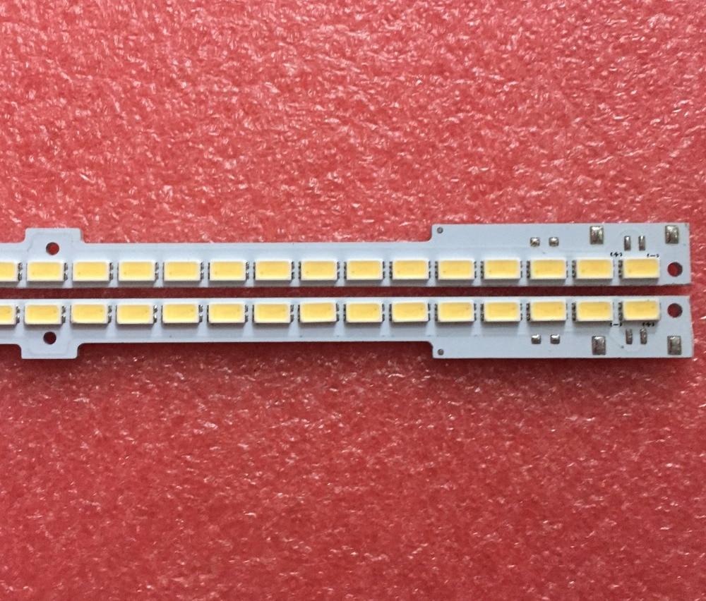 Led Backlight Screen For 55 Inch LED TV UA55D6600WJ LED TV Strip Light 2011SVS55-6.5K-V2-1CH-PV-Left/ RIGHT100 1pcs=100led 680mm