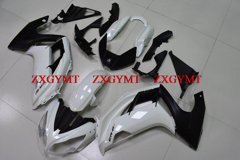 Fairing Kits for EX 650 2012 - 2016 Fairings EX 650 12 13 White Black Fairings EX 650 2014Fairing Kits for EX 650 2012 - 2016 Fairings EX 650 12 13 White Black Fairings EX 650 2014